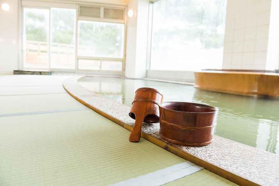 大浴場知林の湯温泉×畳