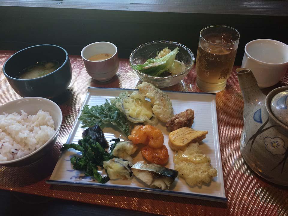 カゴシマプラス 四季の膳の「料理」