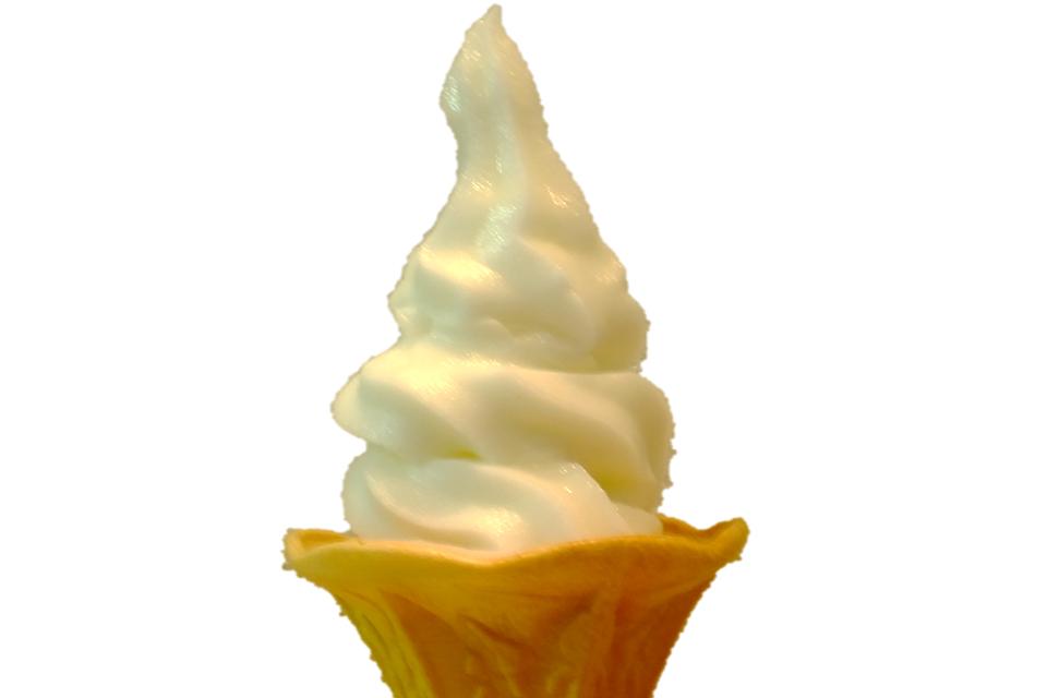 夏にピッタリのソフトクリームが7/19より期間限定で登場♪