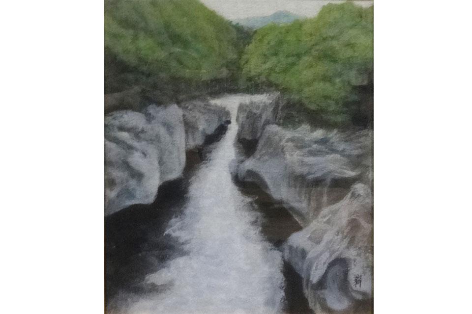 須田勝嶄仁(まさひと)・より子 日本画二人展