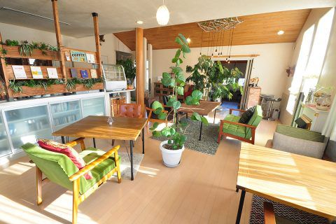 Living-Cafe/店内①