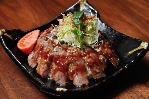 カゴプラ/ビフテキ大関/国産牛ステーキ丼