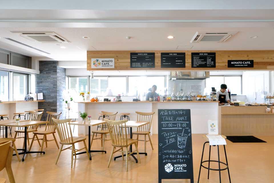 "【MINATO CAFE.】桜島の玄関口 ・桜島港フェリーターミナルにオープン!""皆と""つくる""港""のカフェ"