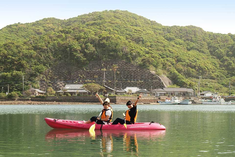【笠沙恵比寿】シーカヤック、釣りetc. 体験プログラム盛りだくさんで1日楽しい♪