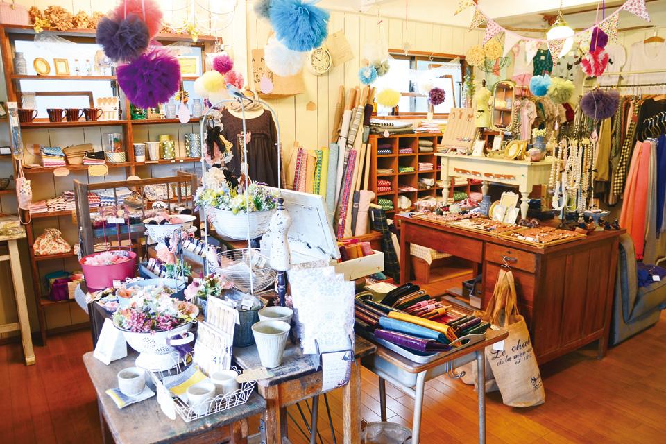 雑貨と手芸の店 +zucca