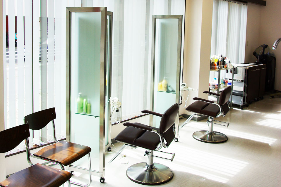 Hair salon Toyama 中郡店