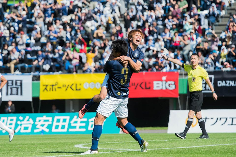2018明治安田生命J3リーグ 鹿児島ユナイテッドFC vs グルージャ盛岡 (第28節)