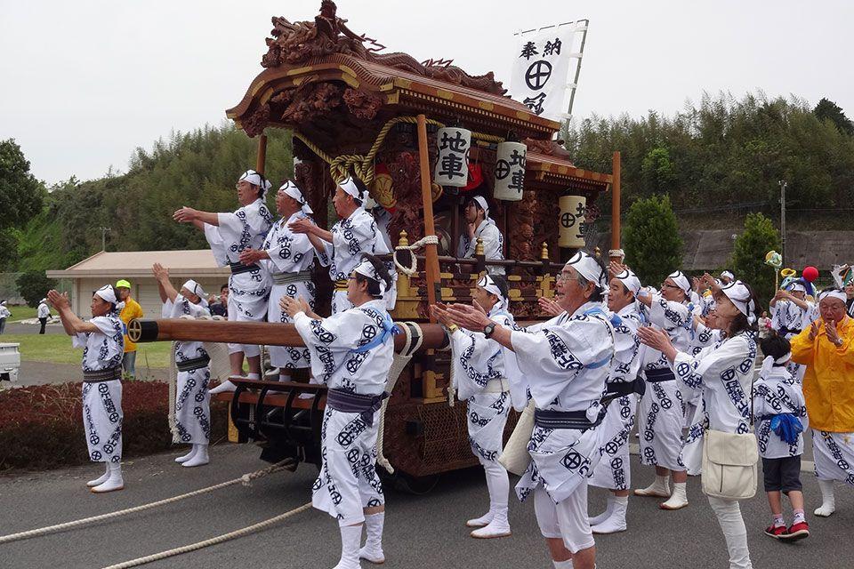 第17回徐福花冠祭