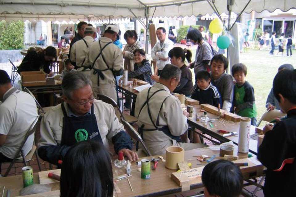 宮之城伝統工芸センターまつり