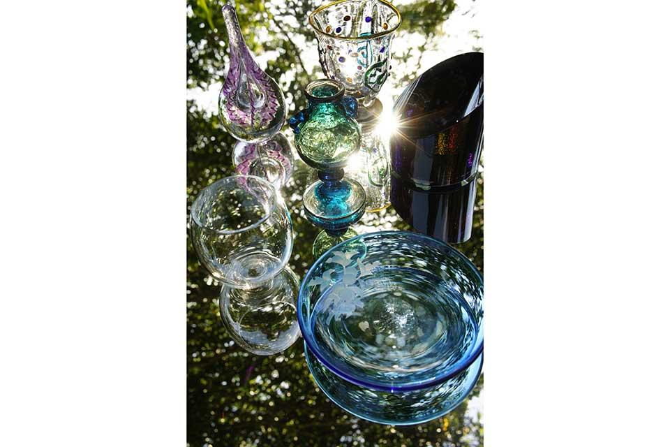 鹿児島のガラス作家6人展
