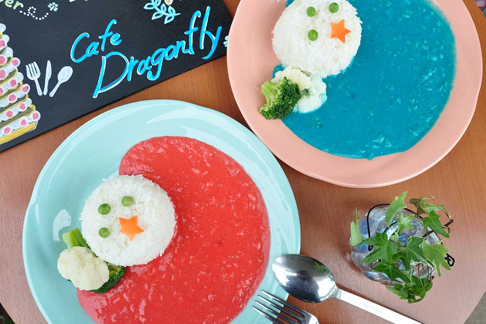 【cafe dragonfly】川内の駅ナカカフェで、めちゃめちゃ〝映える〟メニューを発見!