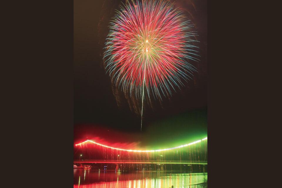 第60回記念川内川花火大会