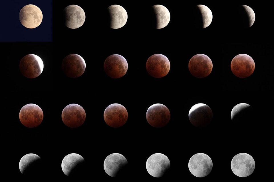 皆既月食観察会