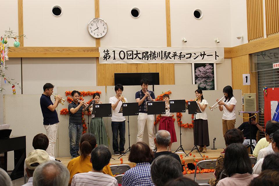 第11回大隅横川駅平和コンサート