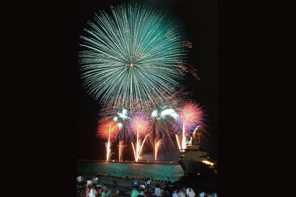 さつま黒潮「きばらん海」枕崎港まつり