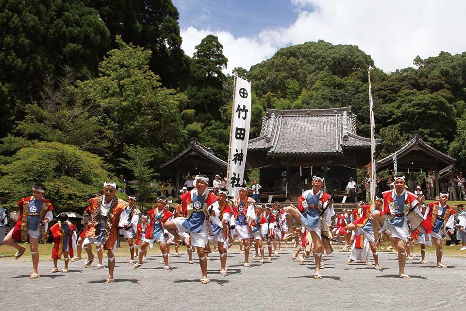 【南さつま市】竹田神社夏祭り
