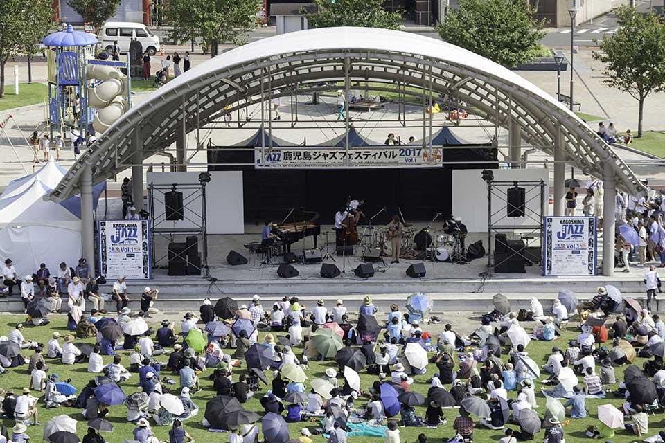 【鹿児島ジャズフェスティバル2018 メインステージ】一流アーティストが天文館に大集結!