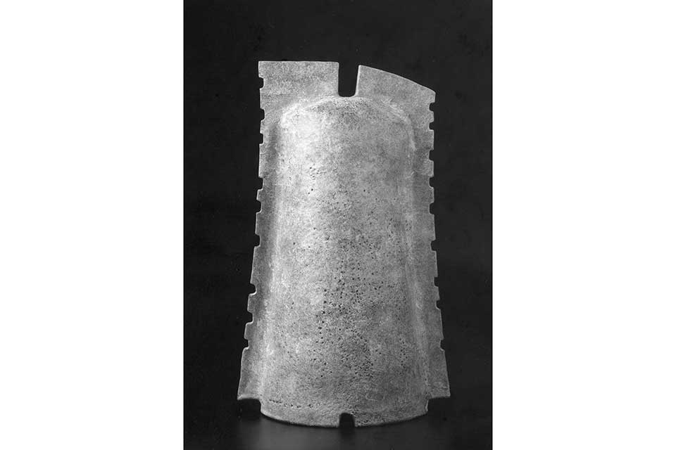 特別展「尾前喜八郎 土器への回帰 釉彩・彩色陶芸展ー土器を灰釉・金彩・銀彩でー」