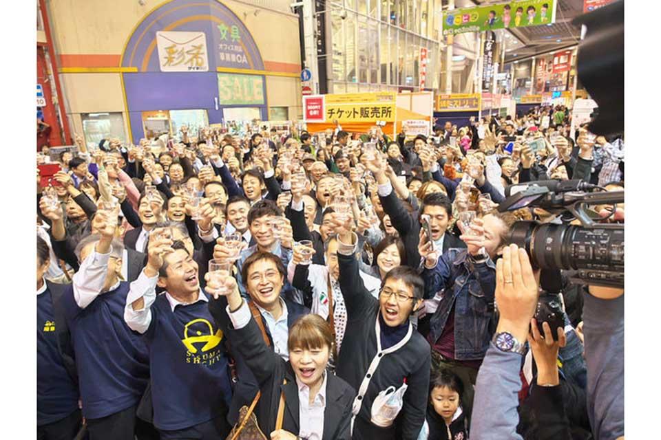 【焼酎ストリート2018】11月1日よりスタート!県内113蔵元の焼酎が天文館に大集合!