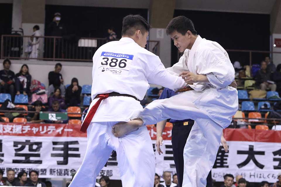 東日本大震災復興支援チャリティー 第32回オープントーナメント 全九州空手道選手権大会