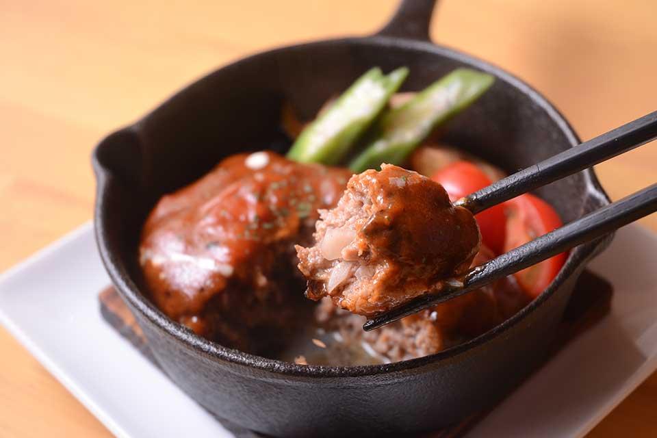 【チカバノ食堂】狙うは3食限定の特製ハンバーグ!肉汁溢れる美味しさにノックアウト~