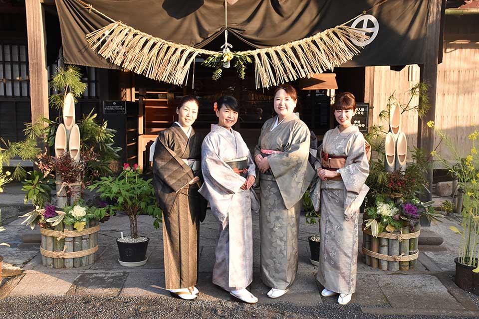 【仙巌園のお正月】着物を着て、新春のお祝いを仙巌園で過ごしませんか?