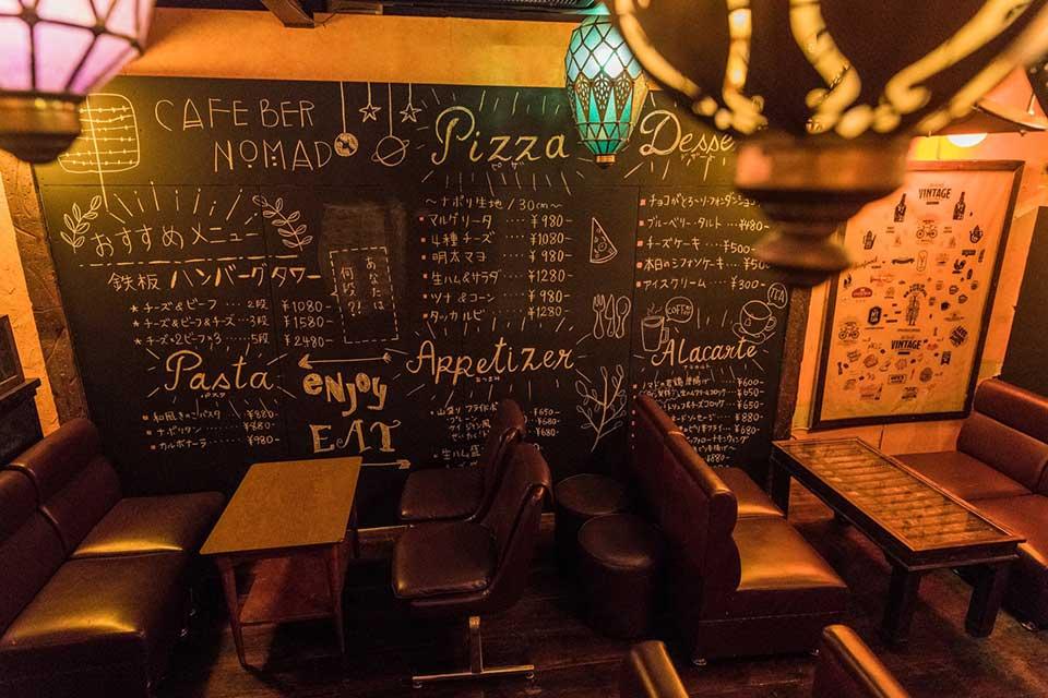 【Cafe Bar NoMad】ピザ釜で焼き上げる自家製ピザが自慢♪さらに、SNS映えメニューにも注目です!