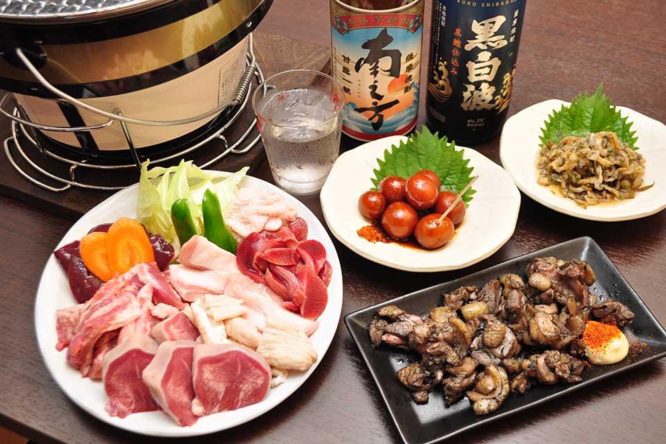【肉麦商店】極上の県産肉を七輪炭火焼で楽しめる、良心価格の居酒屋さん