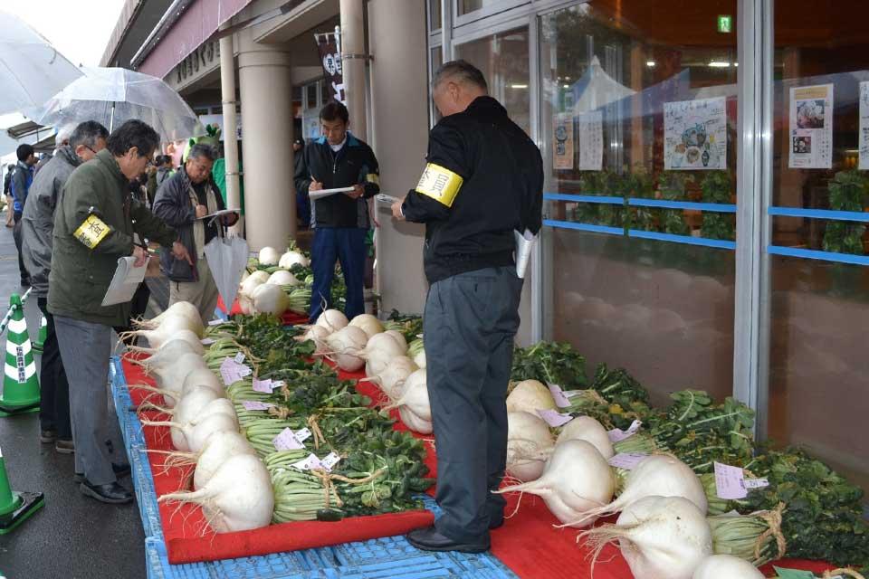 第19回世界一桜島大根コンテスト&火の島めぐみ館感謝祭