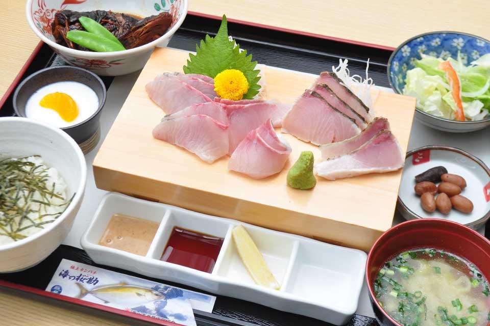 【海の桜勘】日本一と称される極上カンパチを海潟漁港の専門店で味わおう