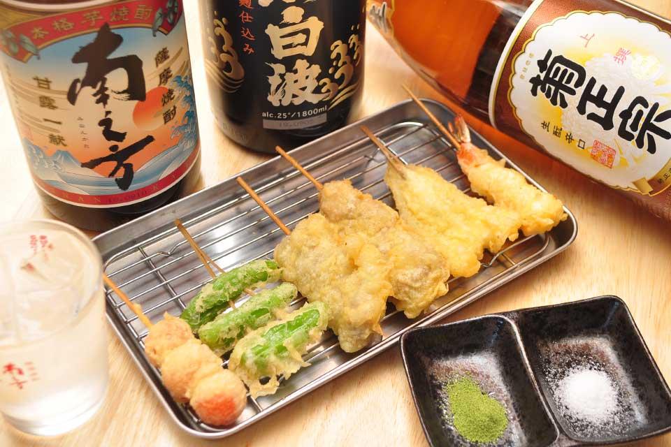 【串天ぷら酒場 粋 -iki-】良心価格で美味しい天ぷら屋がプロデュースする串天ぷら酒場