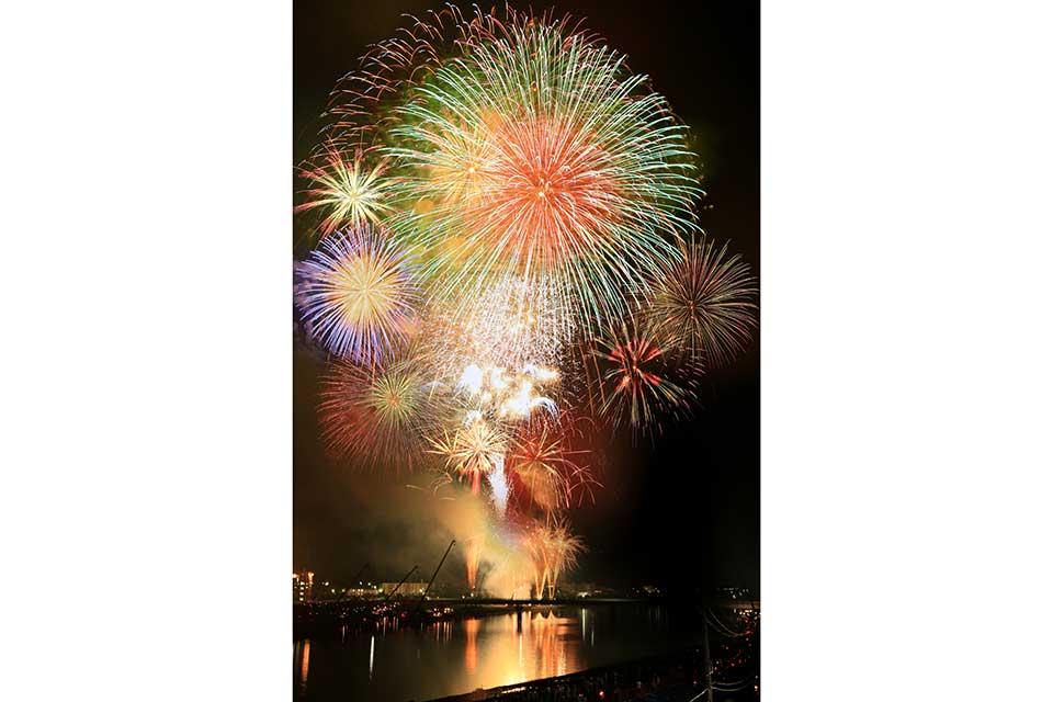 【薩摩川内市】令和元年記念 第61回 川内川花火大会