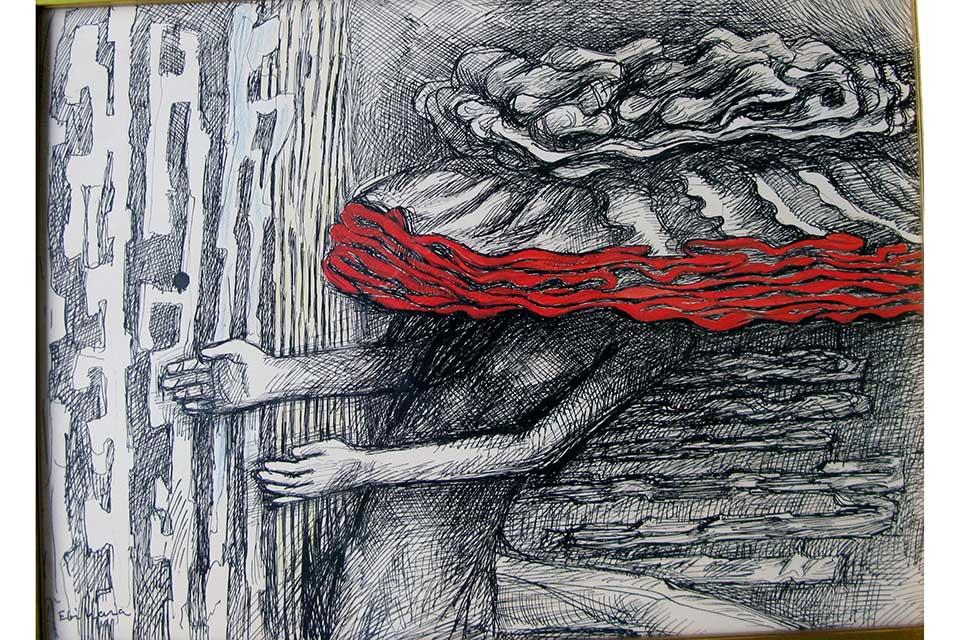 【児玉美術館】企画展「海老原喜之助素描展」