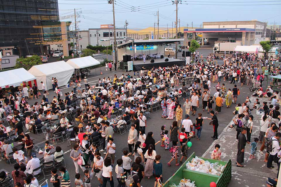 【鹿児島市】第36回オロシティー夏まつり大会2019