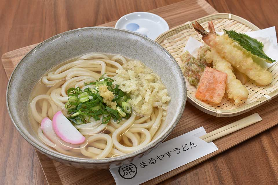【まるやすうどん】本場・香川で学んだ店主が打つこだわり讃岐うどんを堪能あれ