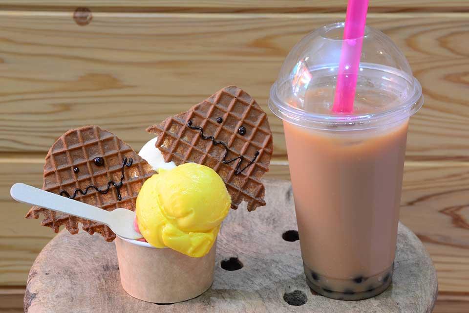 【アイスクリームモンスター】指宿に誕生!美味しいはもちろん!さらにユニーク!なアイス屋さん