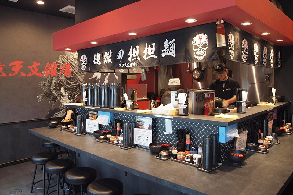 【地獄の担担麺 天竜 天文館店】各メディアで話題の激辛担担麺の店が、ついに鹿児島初上陸!