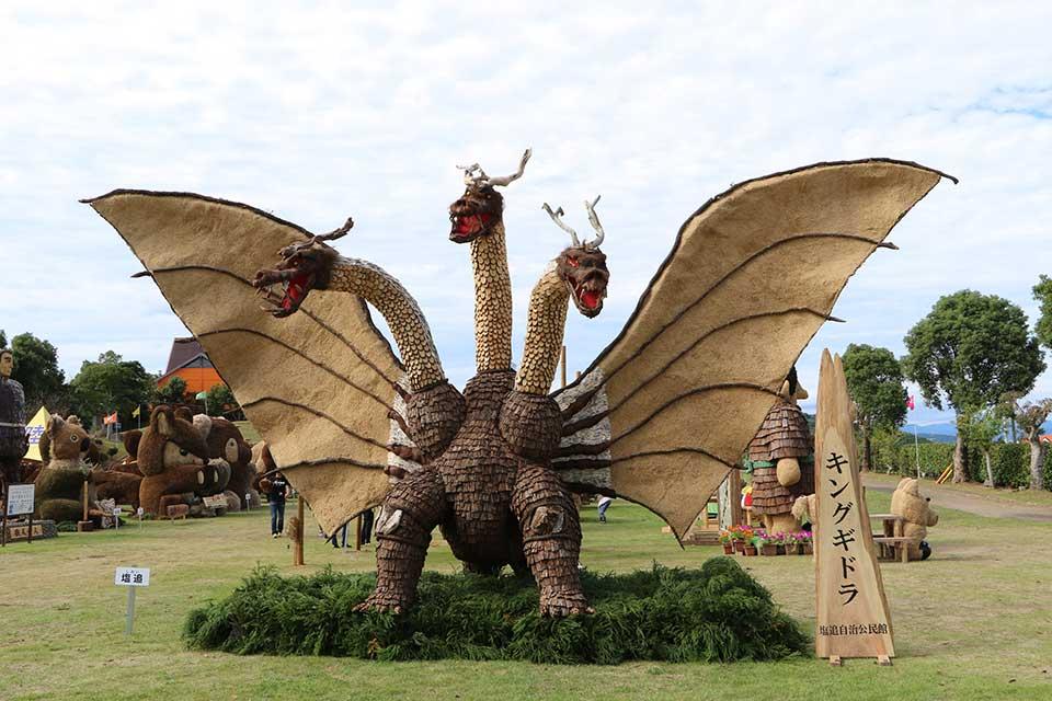 【ながしま造形美術展】長島町がアートに包まれる1ヵ月。2年に1度の一大イベント!
