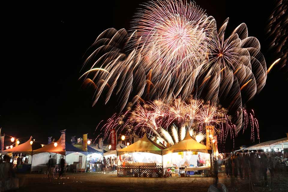 【令和元年度 いちき串木野づくし産業まつり〜地かえて祭り〜】花火×多彩なイベントでいちき串木野の魅力を大満喫!