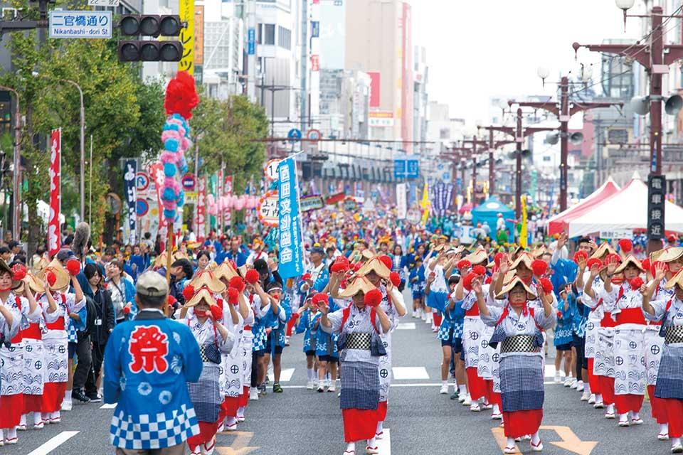 【鹿児島市制130周年記念 第68回おはら祭】本日からスタート!南九州最大級の祭り