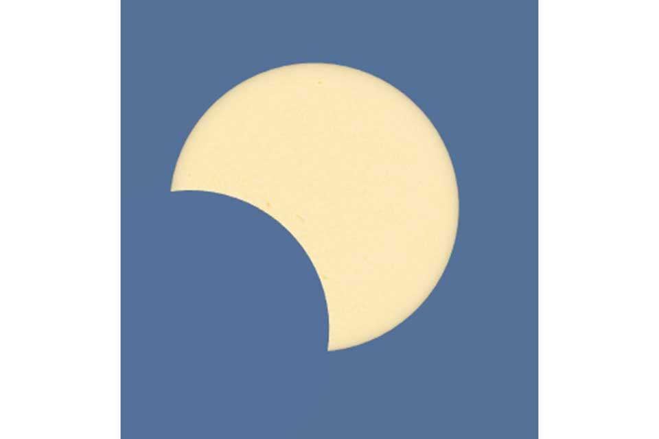 【せんだい宇宙館】部分日食観察会