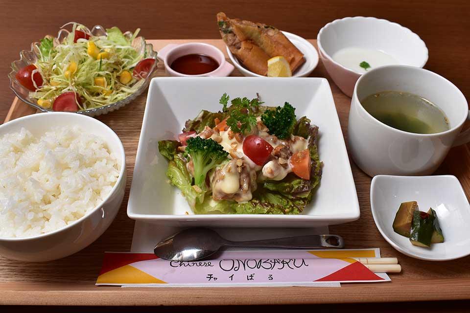 【中華料理 大野原】味もボリュームも大満足!選べる中華ランチはいかが?