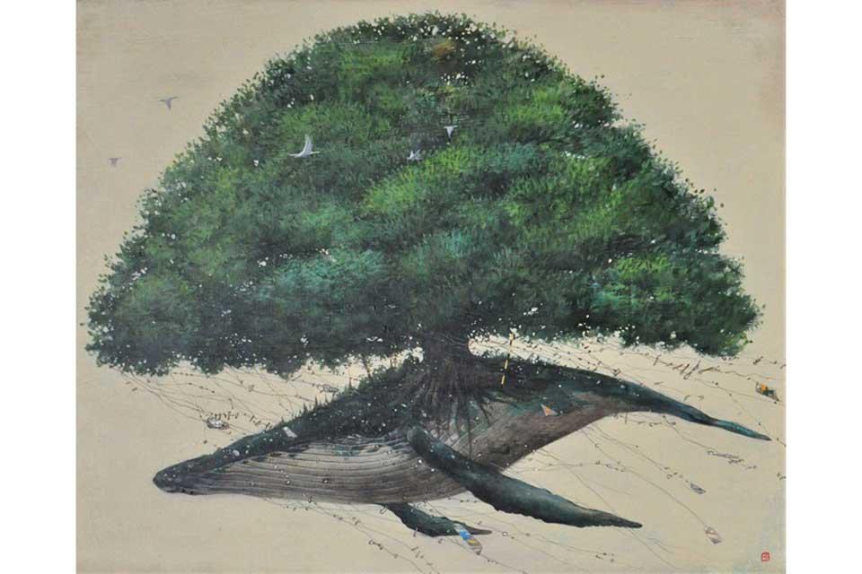 【ギャラリーセージ】濱田尚吾絵画展 ー名前のない旅ー