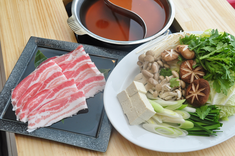 <b>【晴太郎】</b>黒豚しゃぶ鍋がメインの居酒屋さん。 良心価格のランチメニューにも注目!
