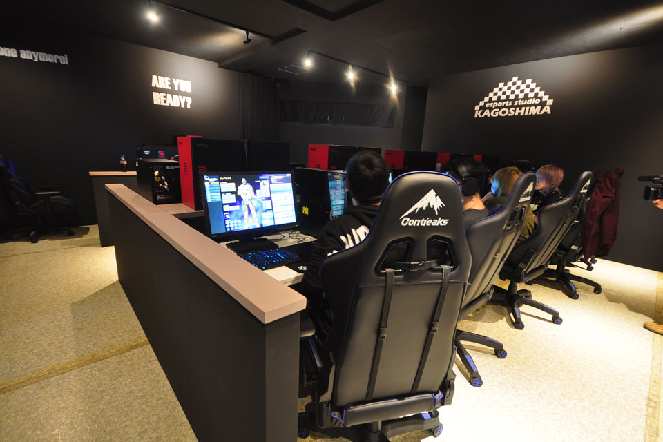 <b>【esports studio KAGOSHIMA】</b>ひとりでも大勢でも楽しめる鹿児島県内初のeスポーツ施設