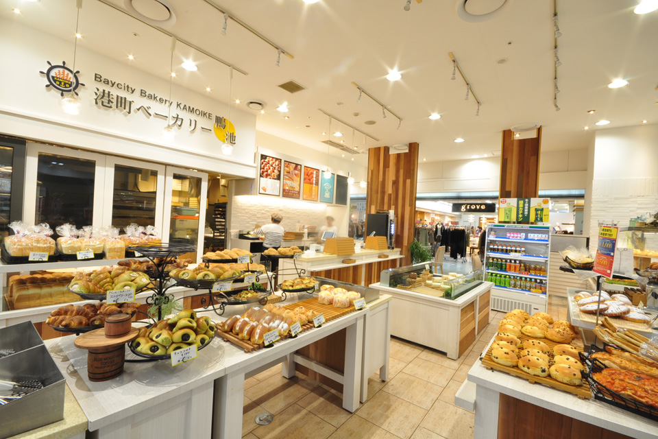 <b>【港町ベーカリー鴨池】</b>イオン鹿児島鴨池店で、パンに溢れたベーカリーを発見!