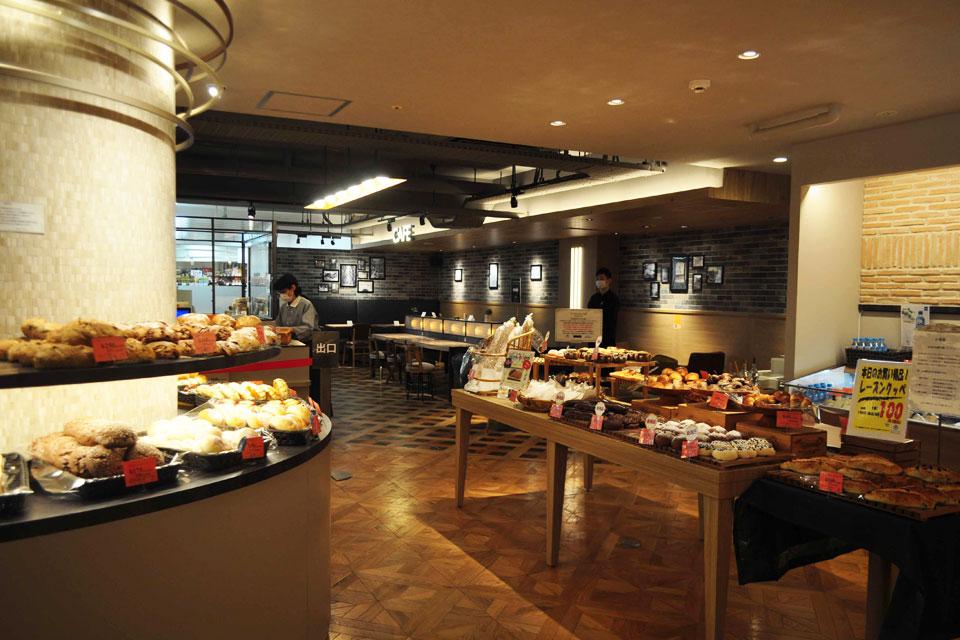 <b>【Bakery Necco】</b>天文館でお買い物の休憩に、カフェとして、使い勝手◎のパン屋さん