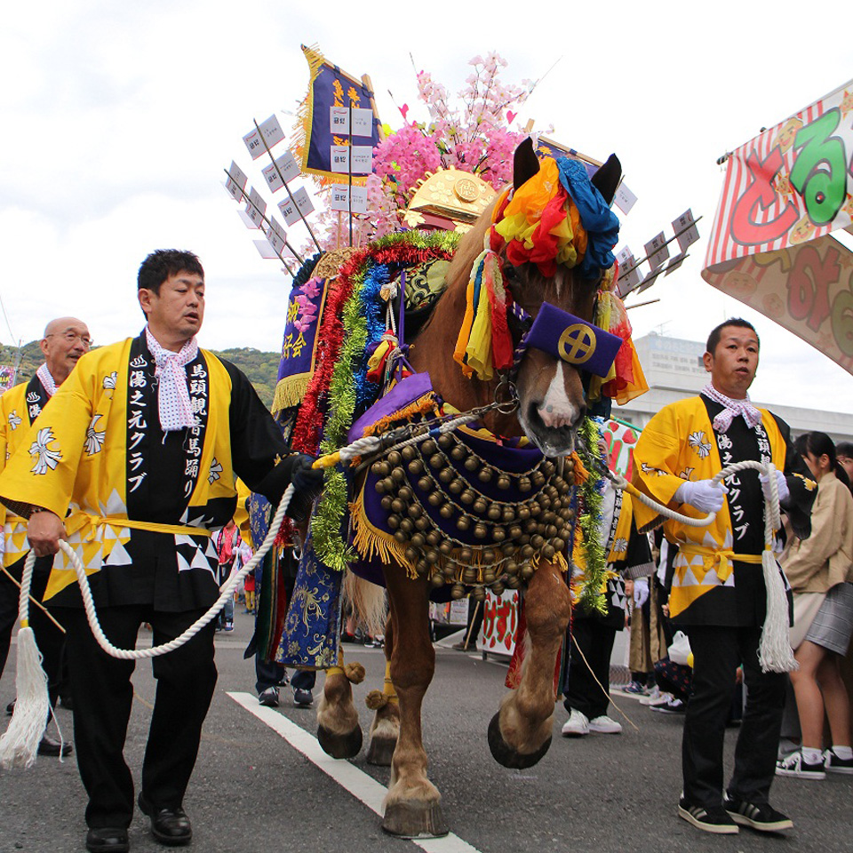 <b>【中止】</b>【日置市】湯之元馬頭観音馬踊り