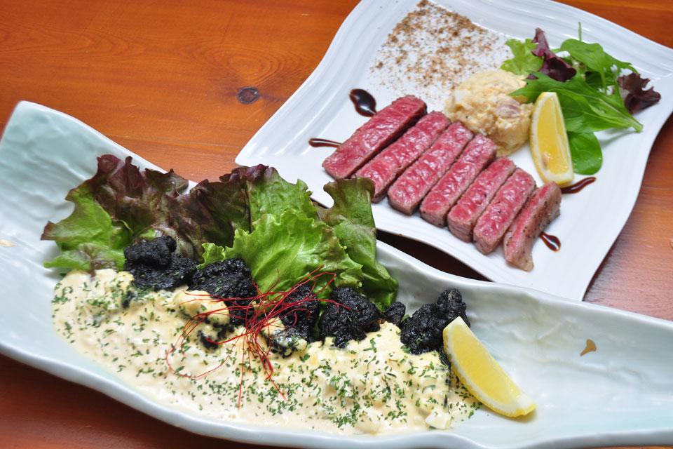 <b>【黒助】</b>黒豚、黒牛、黒さつま鶏… 鹿児島食材の美味料理を良心価格で提供