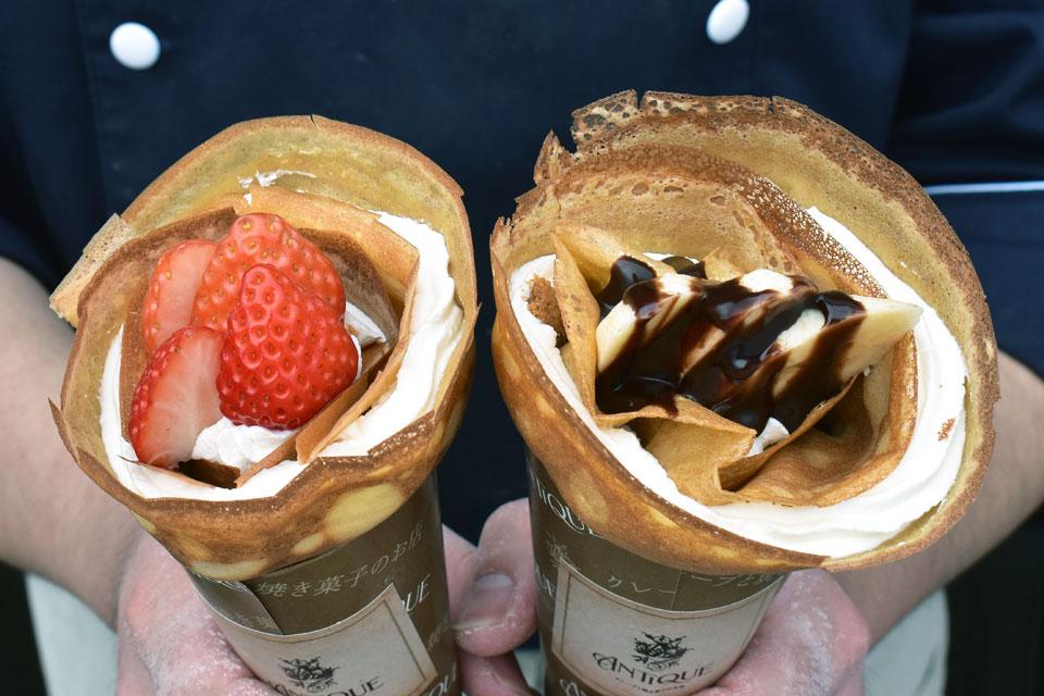 <small>クレープと焼き菓子のお店</small> ANTIQUE